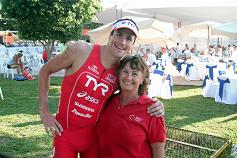 Ironman winner Andy Potts