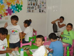 30 children are served by Centro de Autismo Cozumel, a therapeutic center opened in 2008.