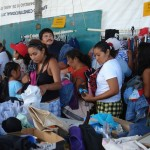 The Gran Bazar drew crowds of people seeking affordable clothing.