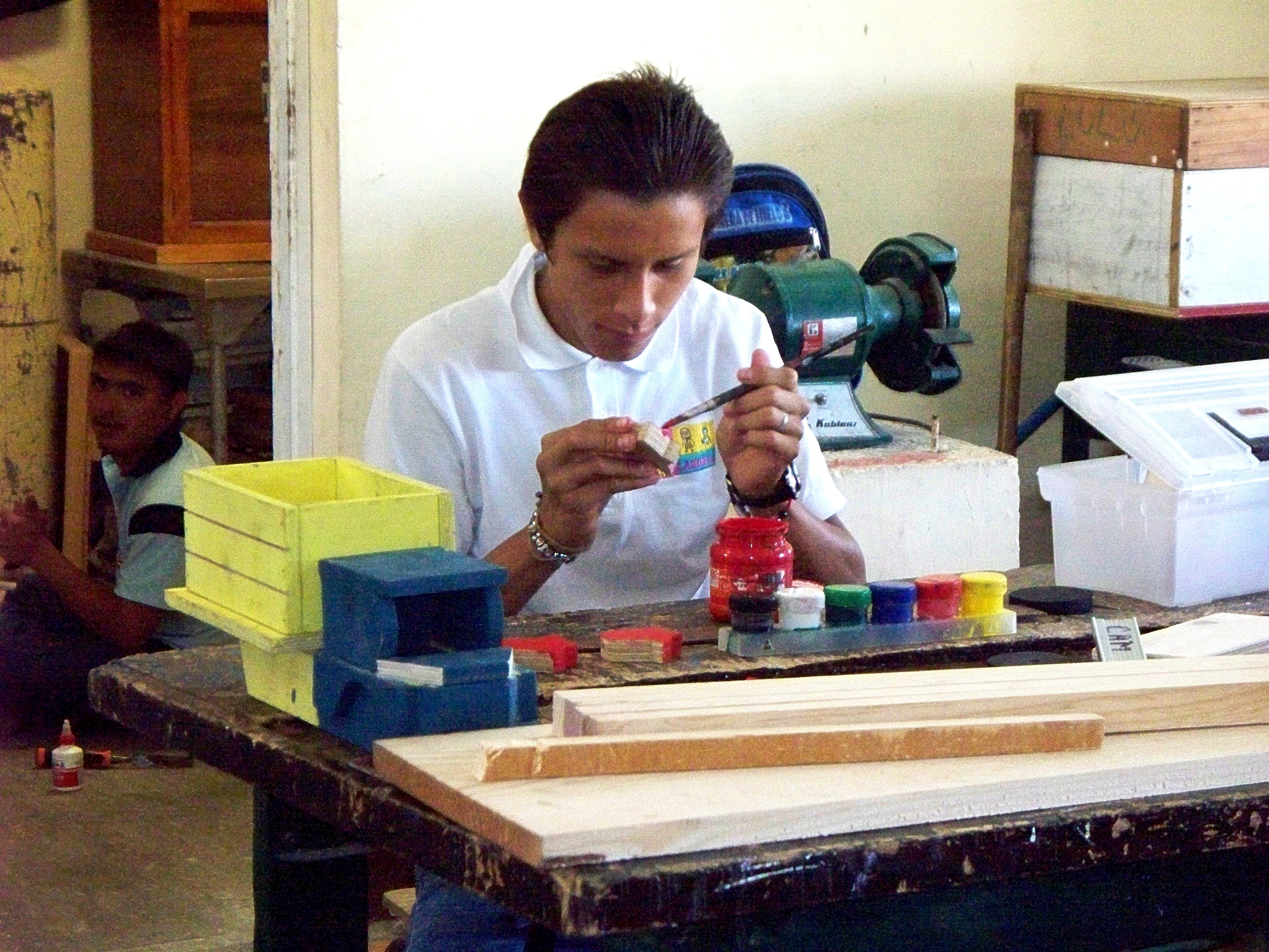 Teens learn carpentry and life skills at CAM