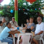 Casita Corazon supporters enjoyed the open house.