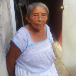 Facunda is the matriarch in a large family where she helps care for the children.
