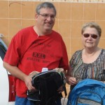 Roger and Diane Hoy were returning volunteers and donors.