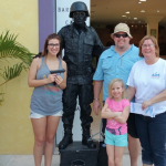 Thanks to the George Family who dropped off donations during their brief visit to Cozumel.