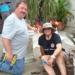 Denny and Heather of Texas are committed volunteers.
